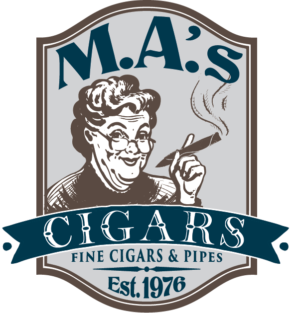 MAs cigars shreveport logo