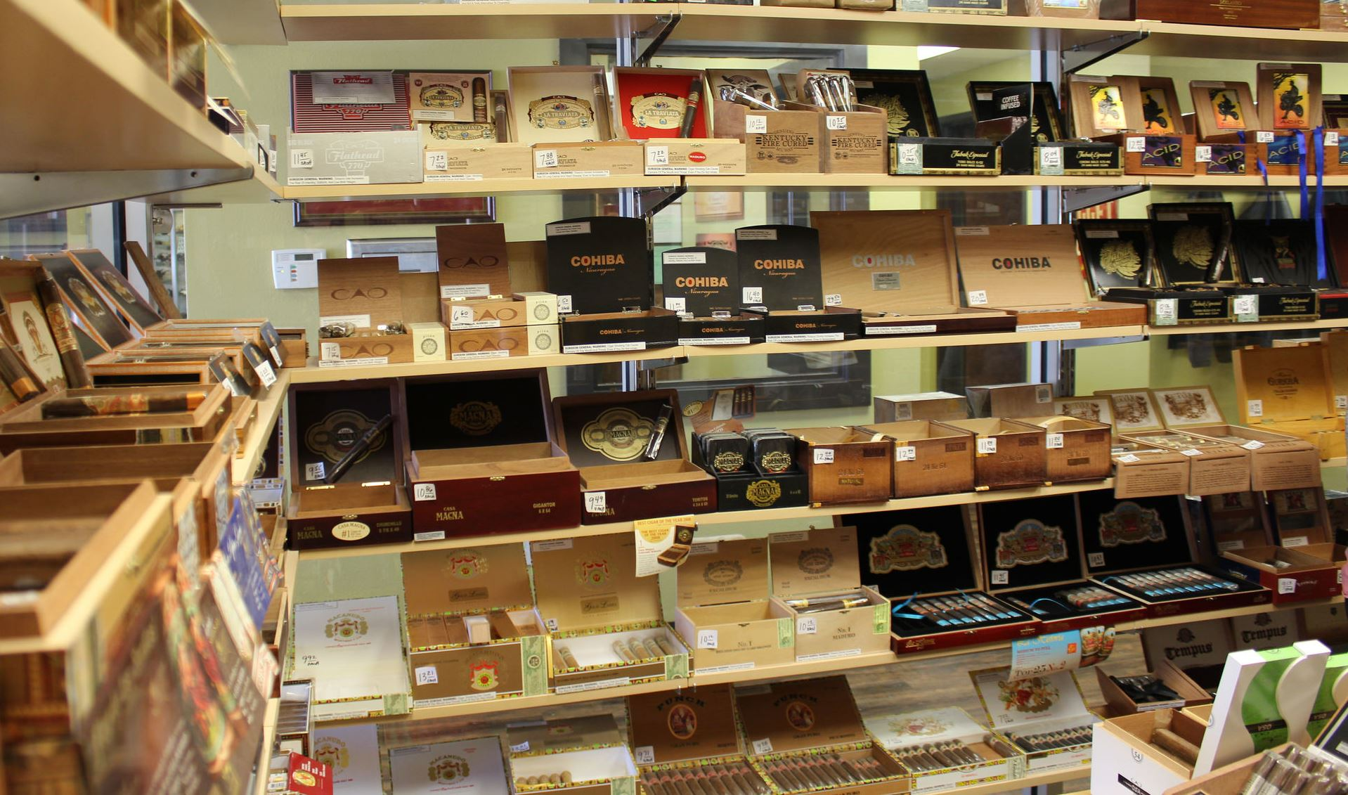 humidor cigars shreveport